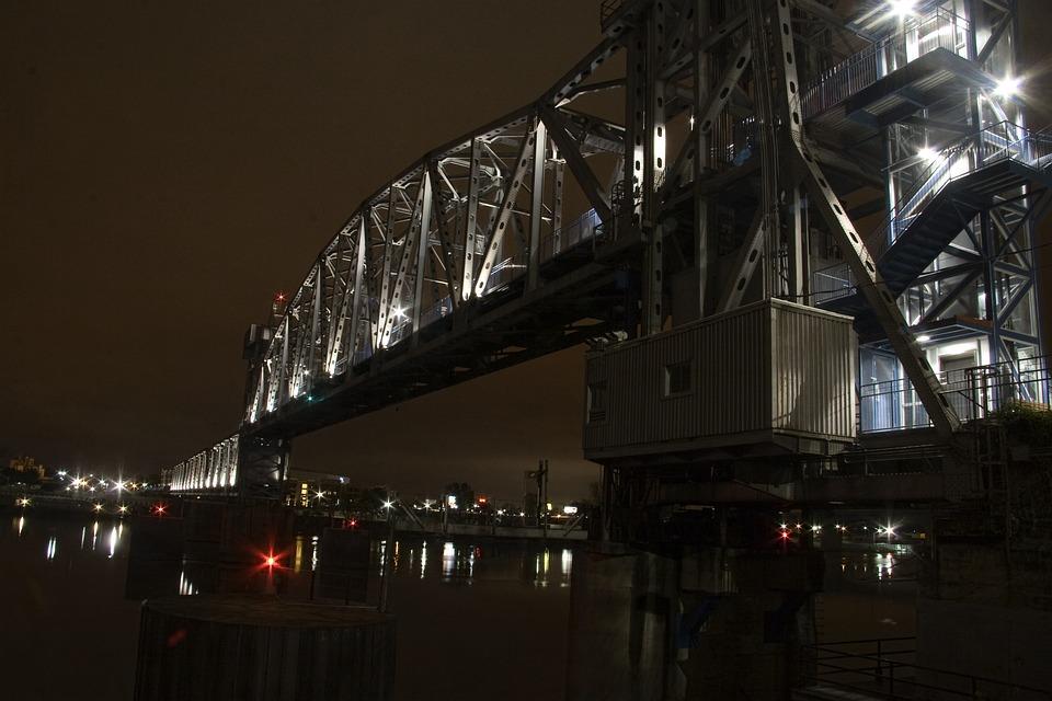 Bridge, Transportation System, Water, Architecture