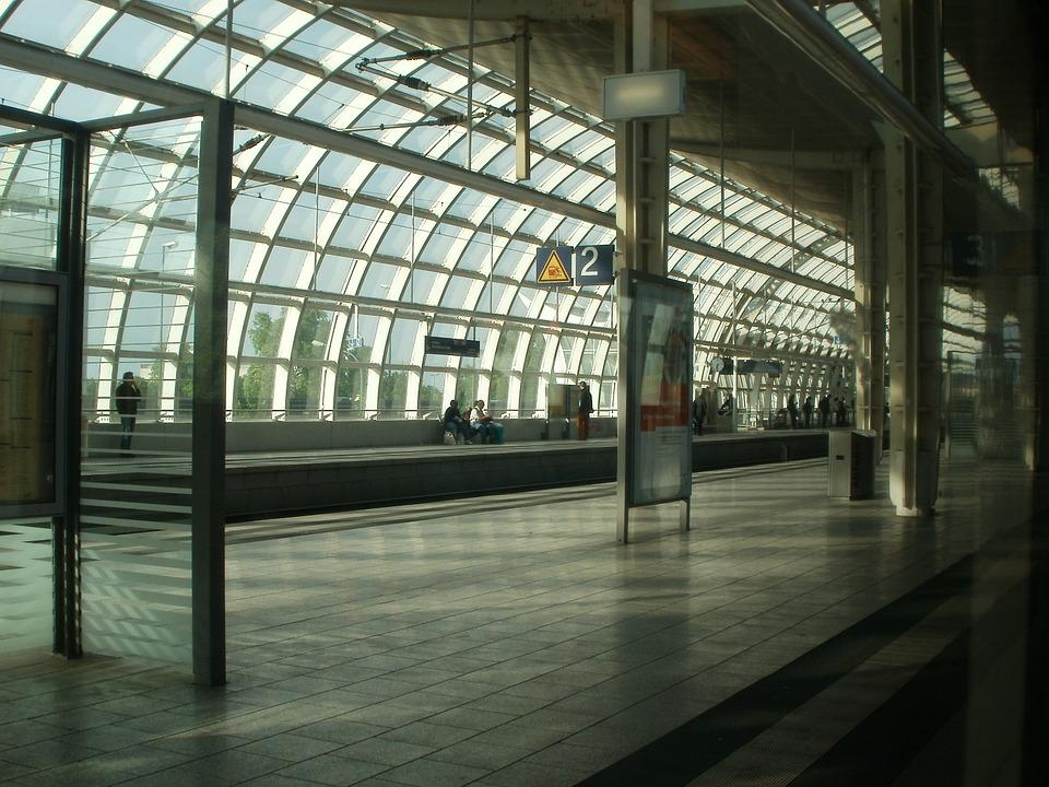Train Station, Railway, Transportation, Travel, Track