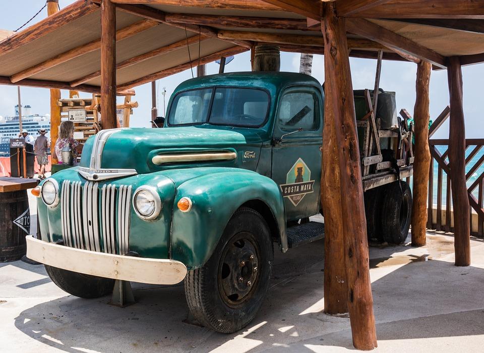 Truck, Ford, Transportation, Antique, Vintage, Classic