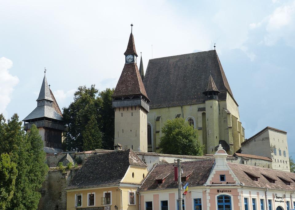 Transylvania, Romania, Historic Center