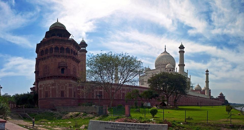 Taj Mahal, India, Travel, Asia, Agra, Architecture