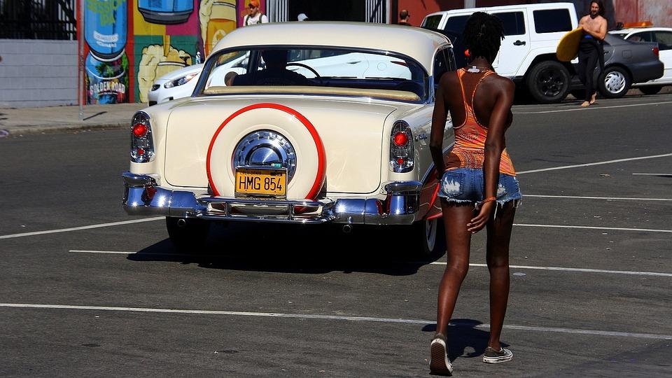 Venice Beach, Usa, America, Automotive, Auto, Travel
