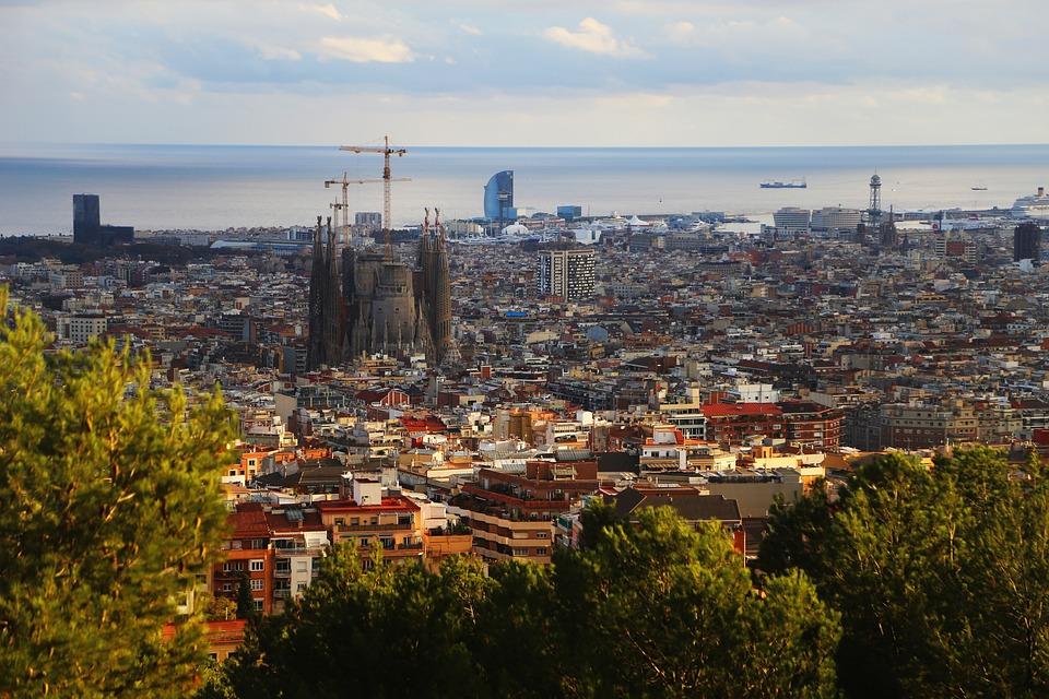 Spain, Catalonia, Barcelona, Travel, Architecture