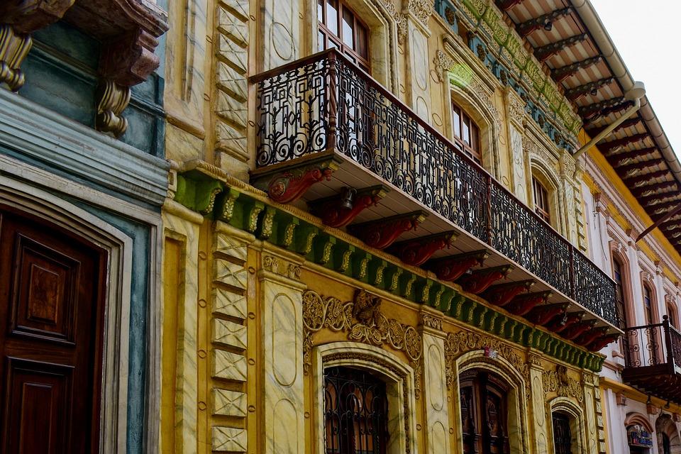 Cuenca Ecuador, Architecture, Travel