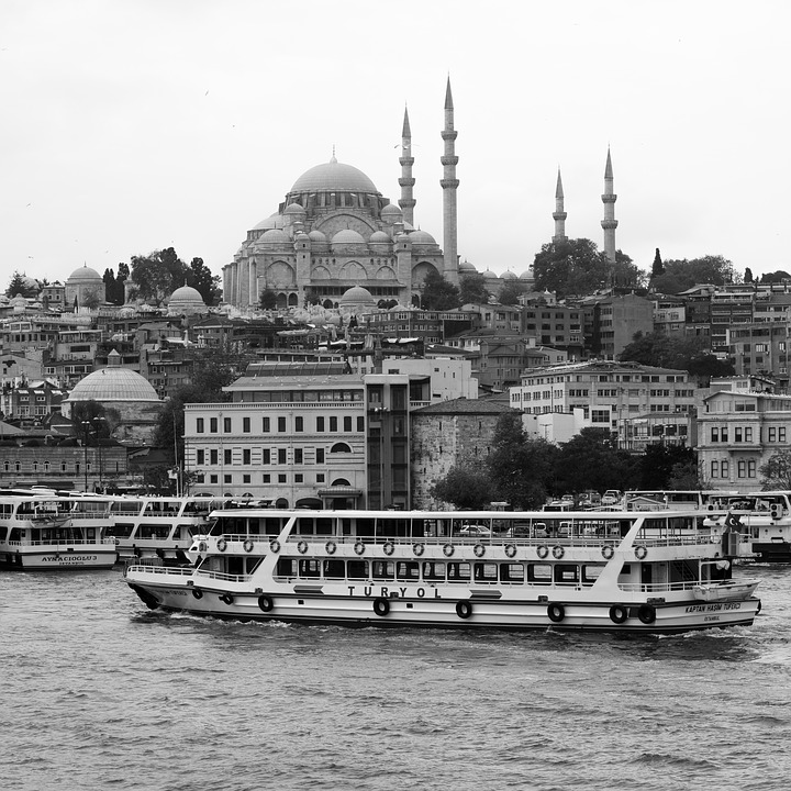 Boat, River, Bosphorus, Turkey, Tourism, Travel, Mosque