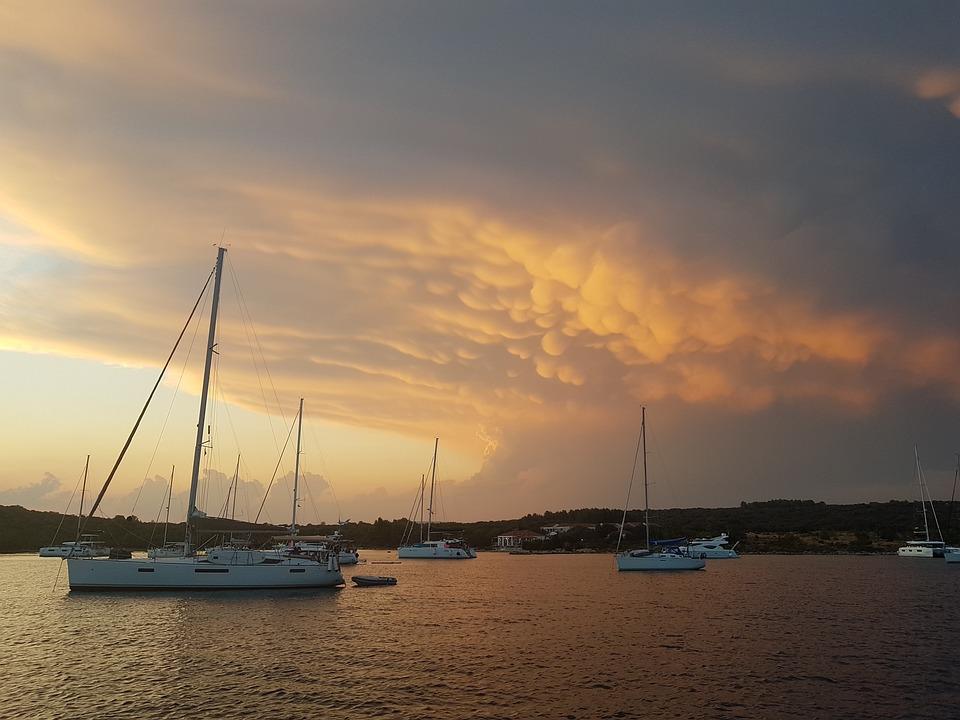 Boats, Sea, Travel, Exploration, Outdoors, Storm