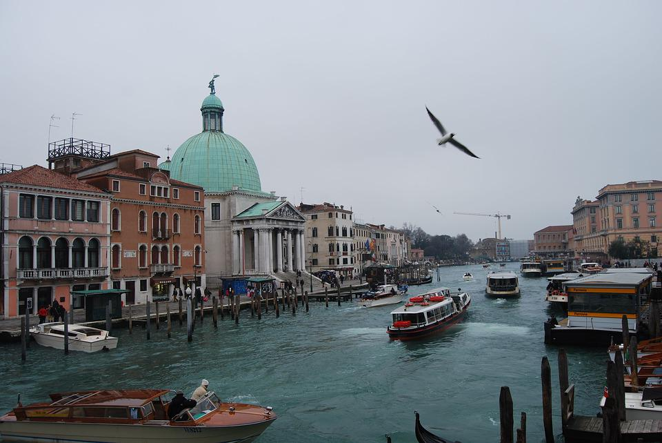 Venice, Body Of Water, Channel Navigation, Travel, City