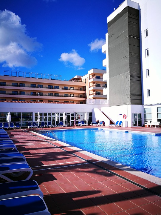 Architecture, Body Of Water, Travel, Sky, Hotel