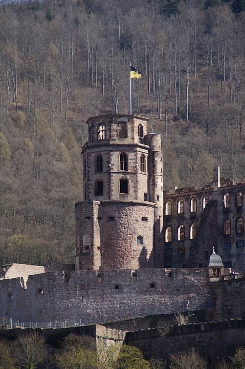 Architecture, Old, Travel, Building, Castle