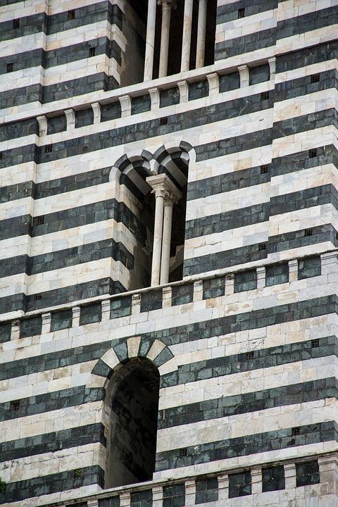Siena, Toscana, Travel, Buildings, Facade, Historically