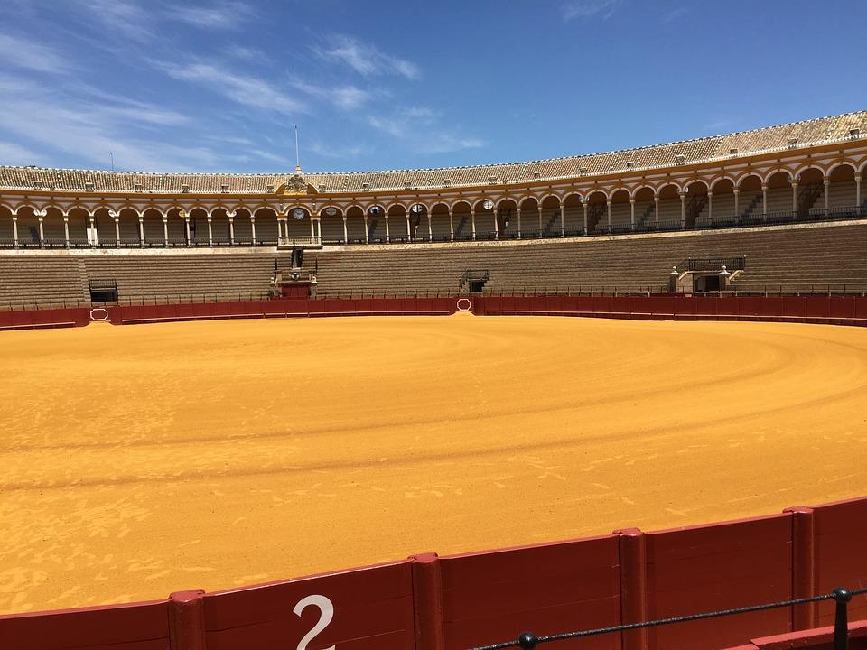 Arena, Travel, Bullfight, Seville