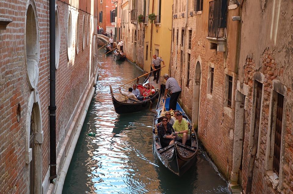 Canal, Gondola, Venetian, Travel, Old, Architecture