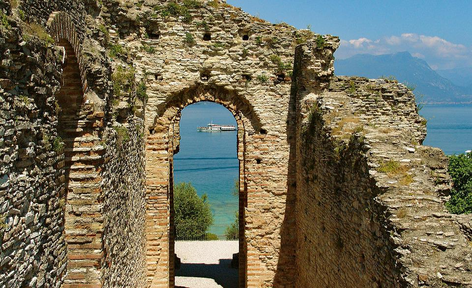 Castle, Building, Ancient, Ruin, Mediterranean, Travel