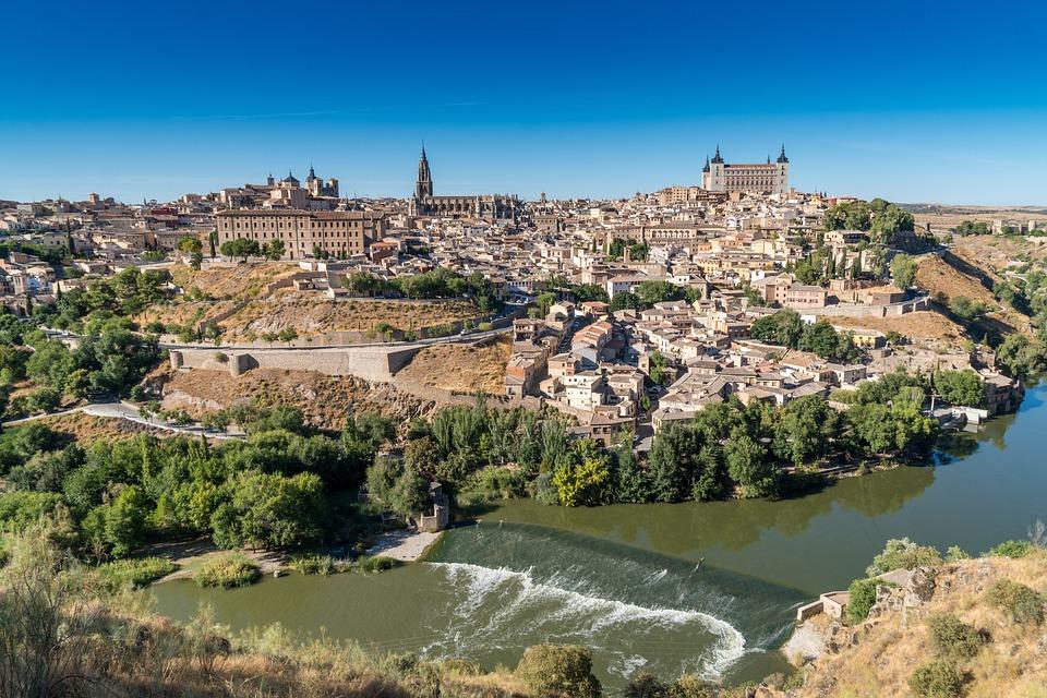 Toledo, Spain, Landscape, Travel, River, City, Historic