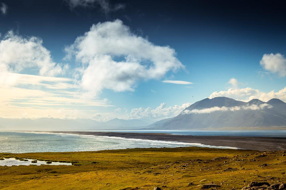 Iceland, Travel, Icelandic, Nature, North, Clouds