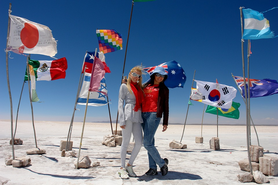 Flags, Travel, Tourism, Salar Uyuni, Models, Holiday