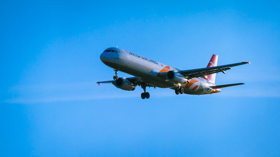 Aircraft, Land, Landing, Travel, Holiday, Fly, Arrive