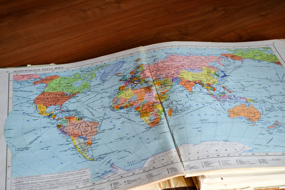 map navigation directions globe travel trip