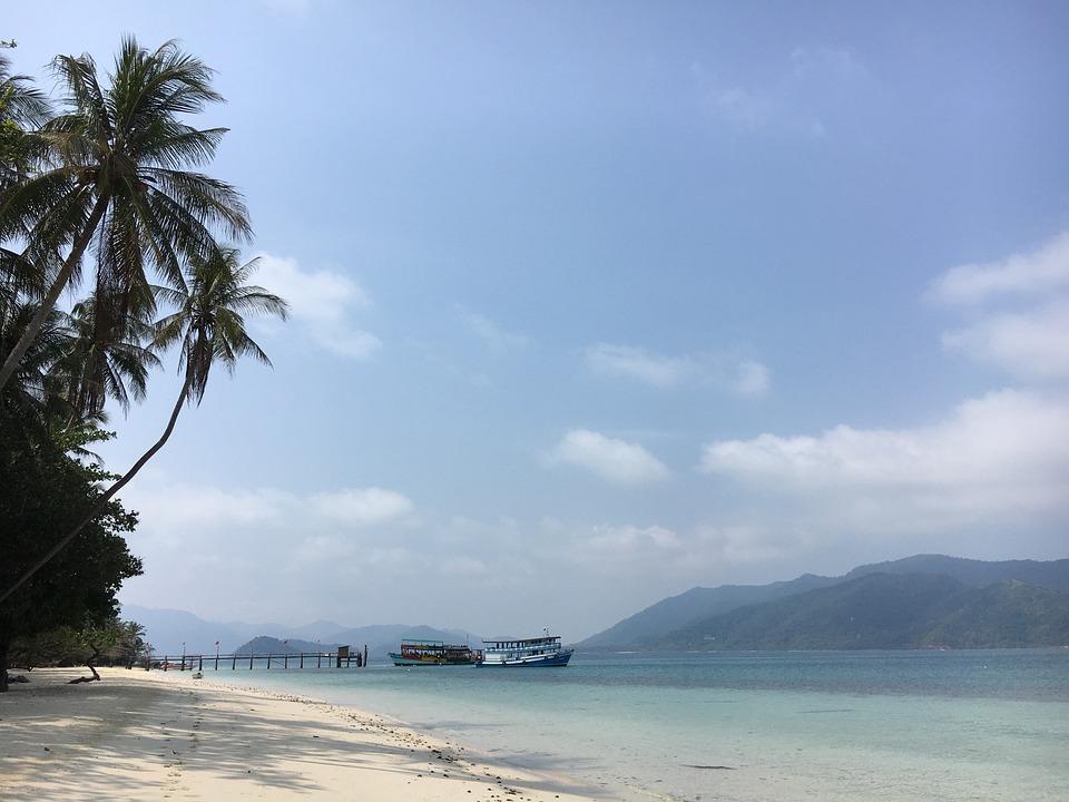 Asia, Thailand, Holiday, Island, Sea, Landscape, Travel