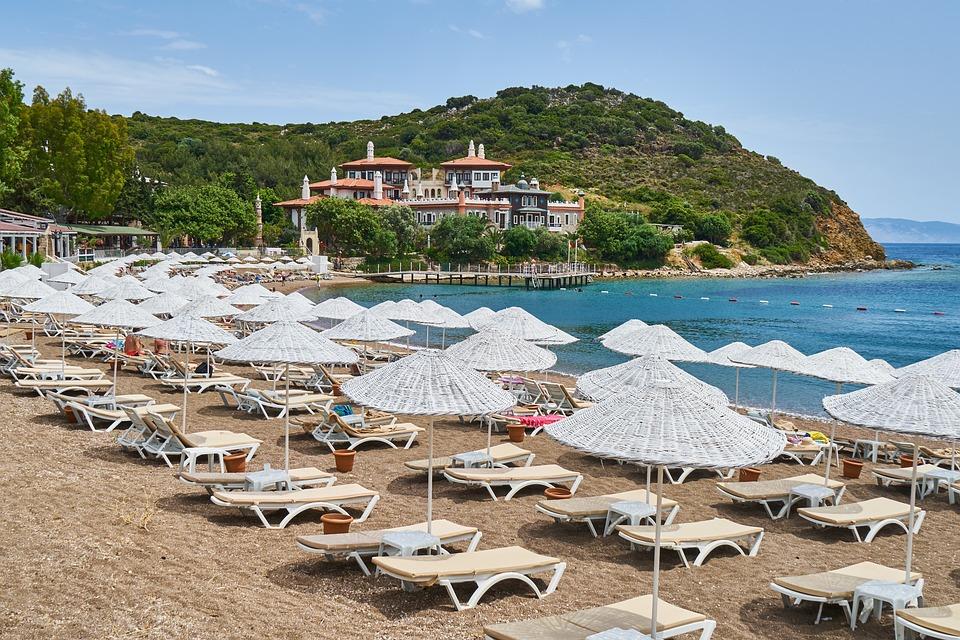 Holiday, Hotel, Umbrella, Travel, Luxury, Water