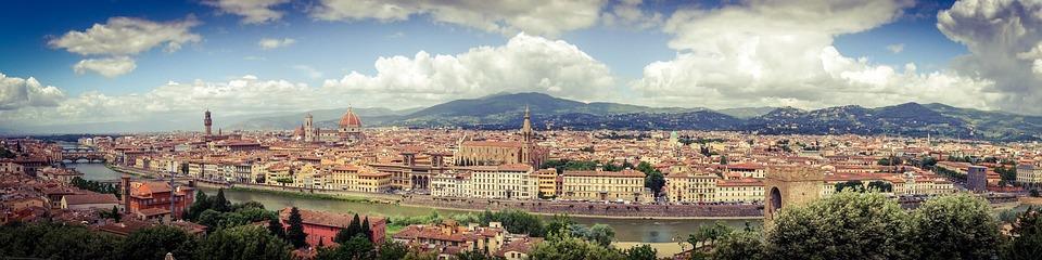 Florence, Tuscany, Travel, Panorama, Italy
