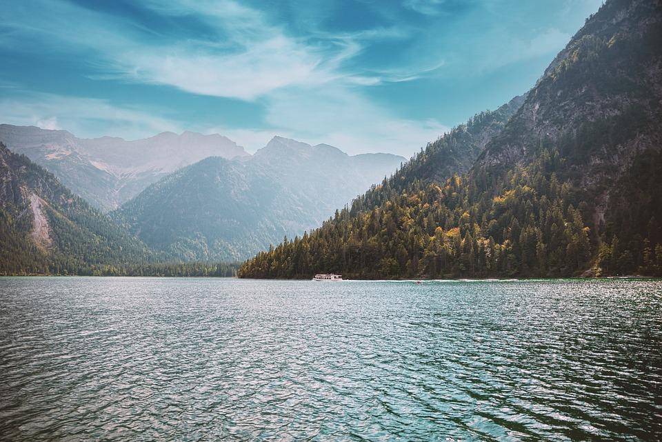 Lake, Mountains, Nature, Outdoors, Travel, Exploration
