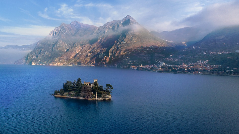 Waters, Travel, Sea, Panoramic, Costa, Lake, Island
