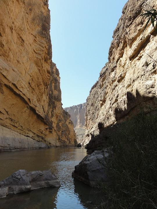 Water, Nature, Rock, Travel, Landscape, Canyon, River