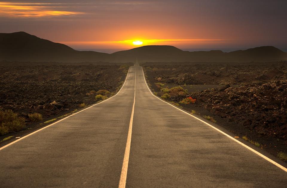 Road, Highway, Travel, Asphalt, Sky, Landscape
