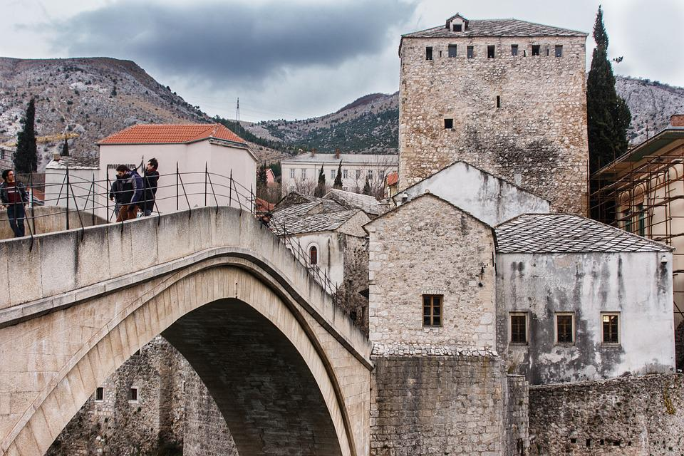 Mostar, Bridge, Travel, Bosnia, Herzegovina, Stari