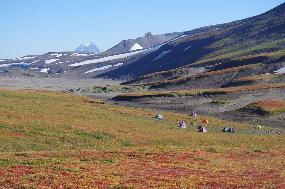 Mountain Plateau, Tundra, Volcano, Travel, Landscape
