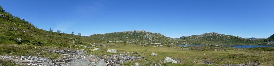 Norway, Panorama, Hill, Travel, Nature, Mountain