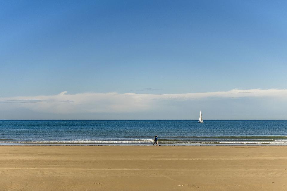 Body Of Water, Sand, Summer, Travel, Nature, Beach, Sky
