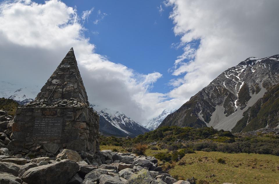 Mountain, Nature, Travel, New Zealand