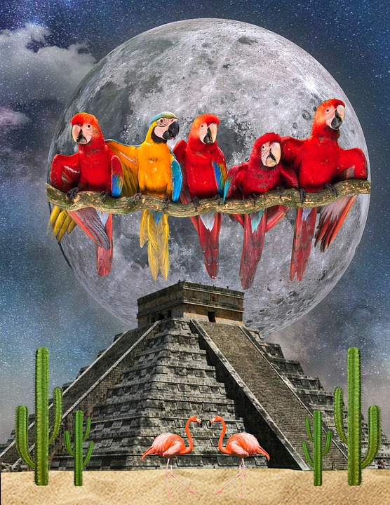Art, Travel, Outdoors, Mexico, Chichen Itza