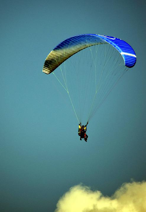 Paragliding, Leisure, Adventure, Travel, Outdoors