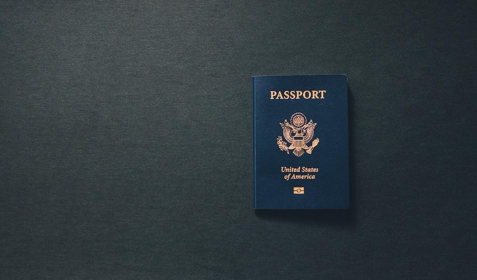 Passport, Usa, Citizenship, Travel