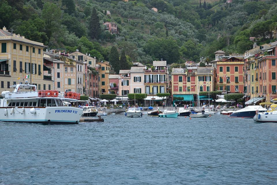 Portofino, Liguria, Italy, Sea, Travel, Landscape