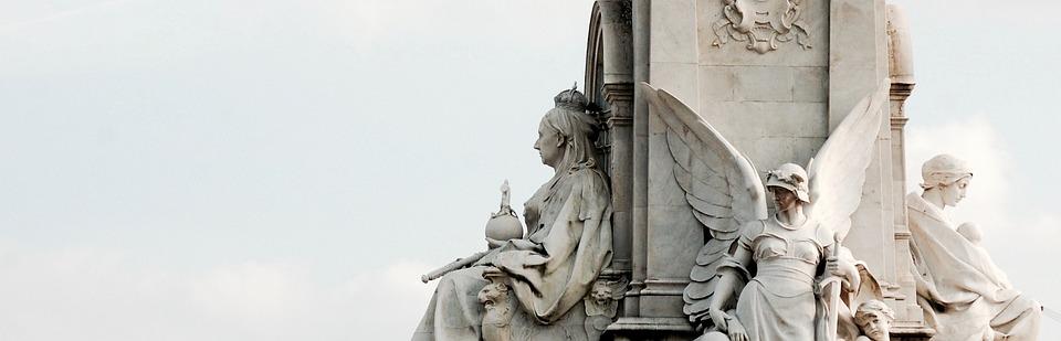 Statue, Travel, Tourism, Buckingham, Palace, Queen