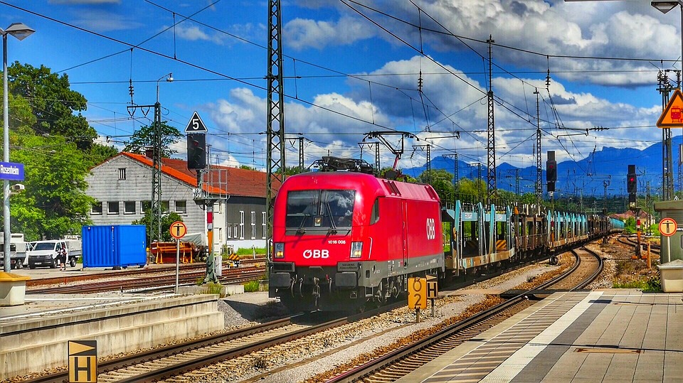 Train, Transport System, Railway, Travel, Railway Line