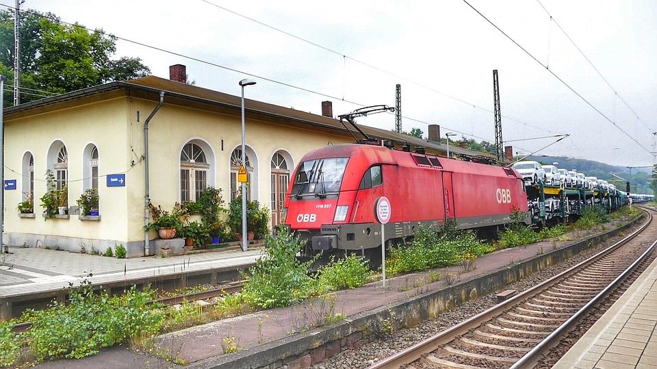 Train, Railway, Railway Line, Travel, Railway Station