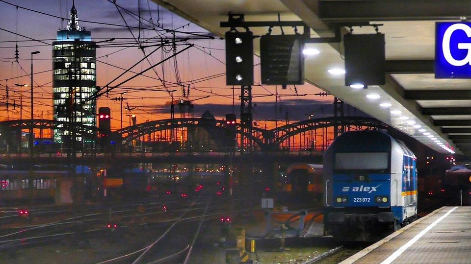 Transport System, Train, Railway, Travel