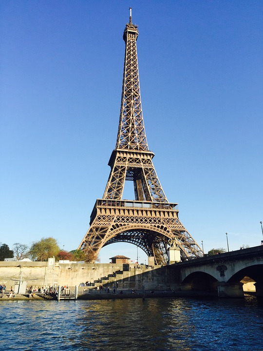 Architecture, Travel, River, Water, Tower