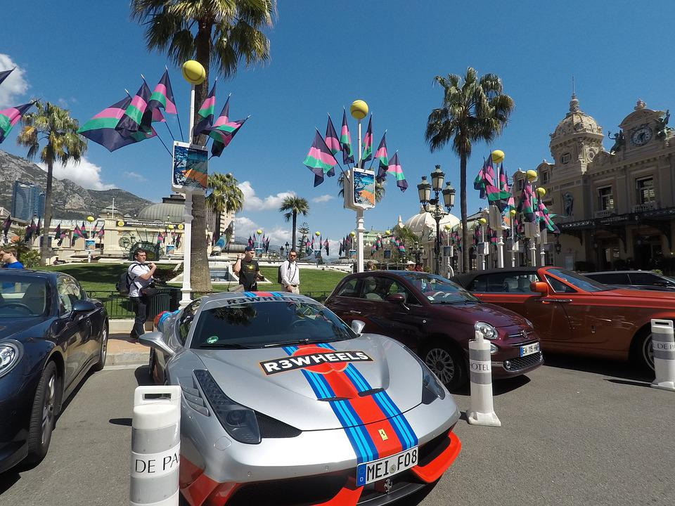 Travel, Street, City, Road, Car, Monaco, French Riviera