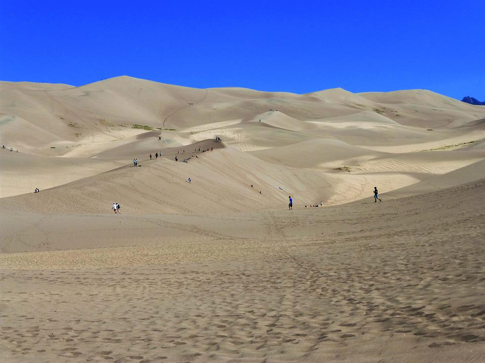 Usa, National Park, Sand, Desert, Landscape, Travel