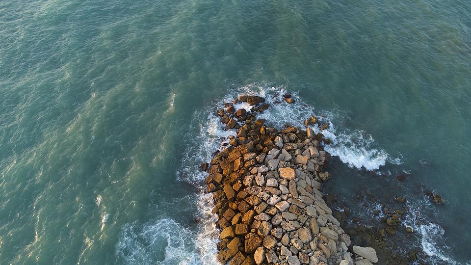 Sea, Travel, Exploration, Rocks, Shore, Ocean, Outdoors