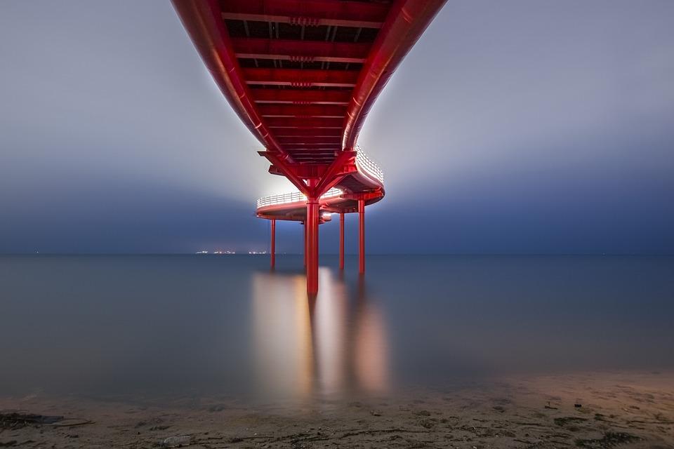 Bridge, Ocean, Travel, Sea, Outdoors, Adventure