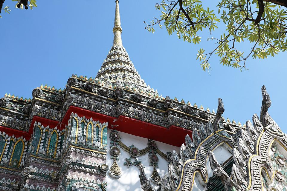 Architecture, Travel, Tourism, Sky, Temple, Old, City