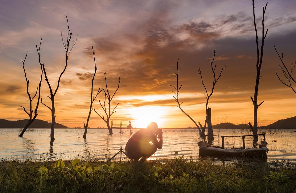Sunset, Twilight, Sky, Travel, Nature, Summer