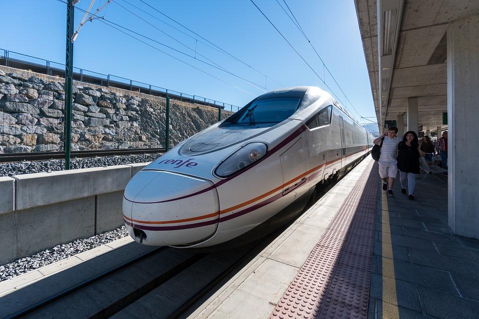 High Speed Train, Spain, Railway, Travel, Transport